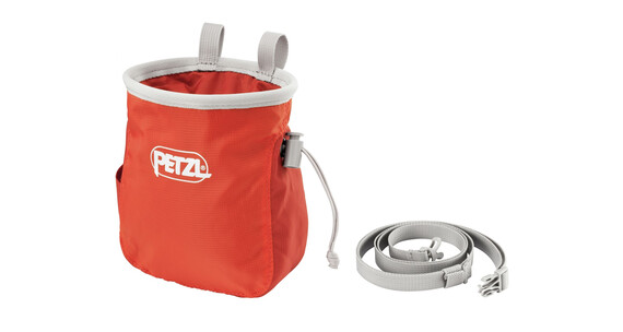 Petzl Saka Chalk Bag Coral